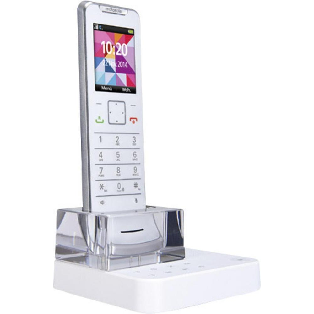 Buy Motorola Cordless Phone It 6 1xc White Silver In India Omega